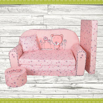 Sofa enfant 2 places convertibles Sweet-Bear