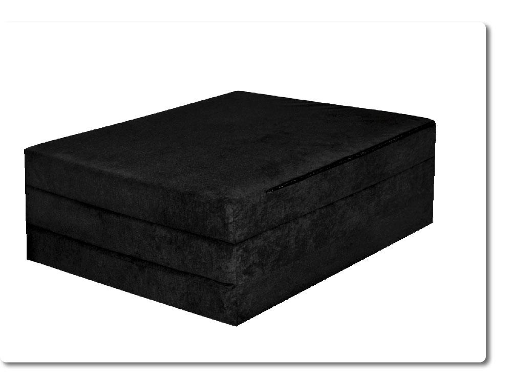 matelas d 39 appoint pliant lit d 39 appoint lit d 39 invit futon pouf 180x80x9 cm ebay. Black Bedroom Furniture Sets. Home Design Ideas